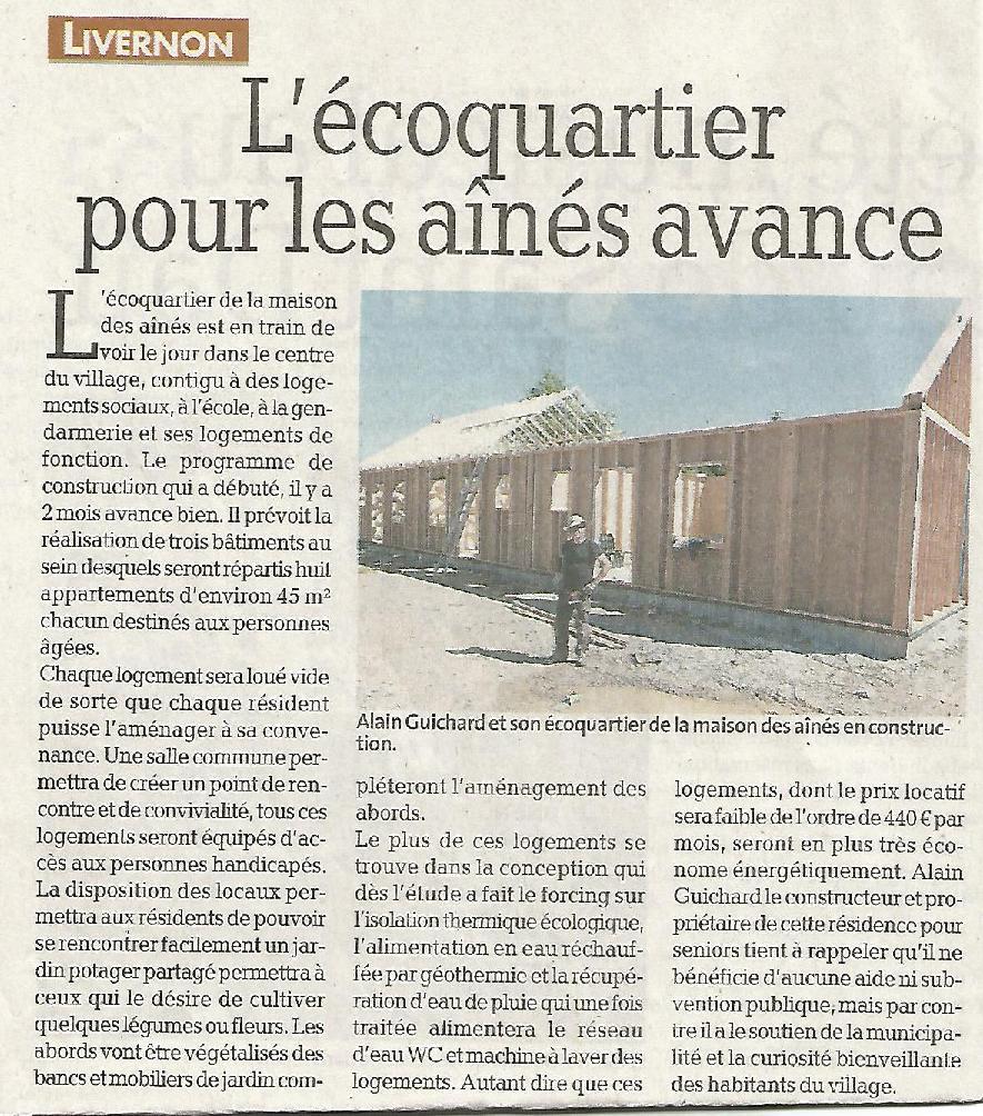 Site maison des aines article ldp juin 2013